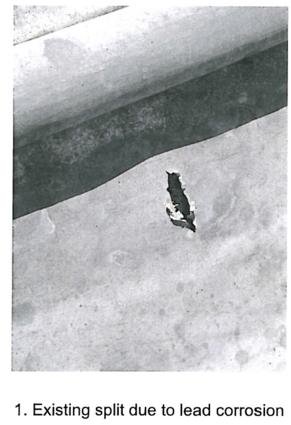 Lead on Roof