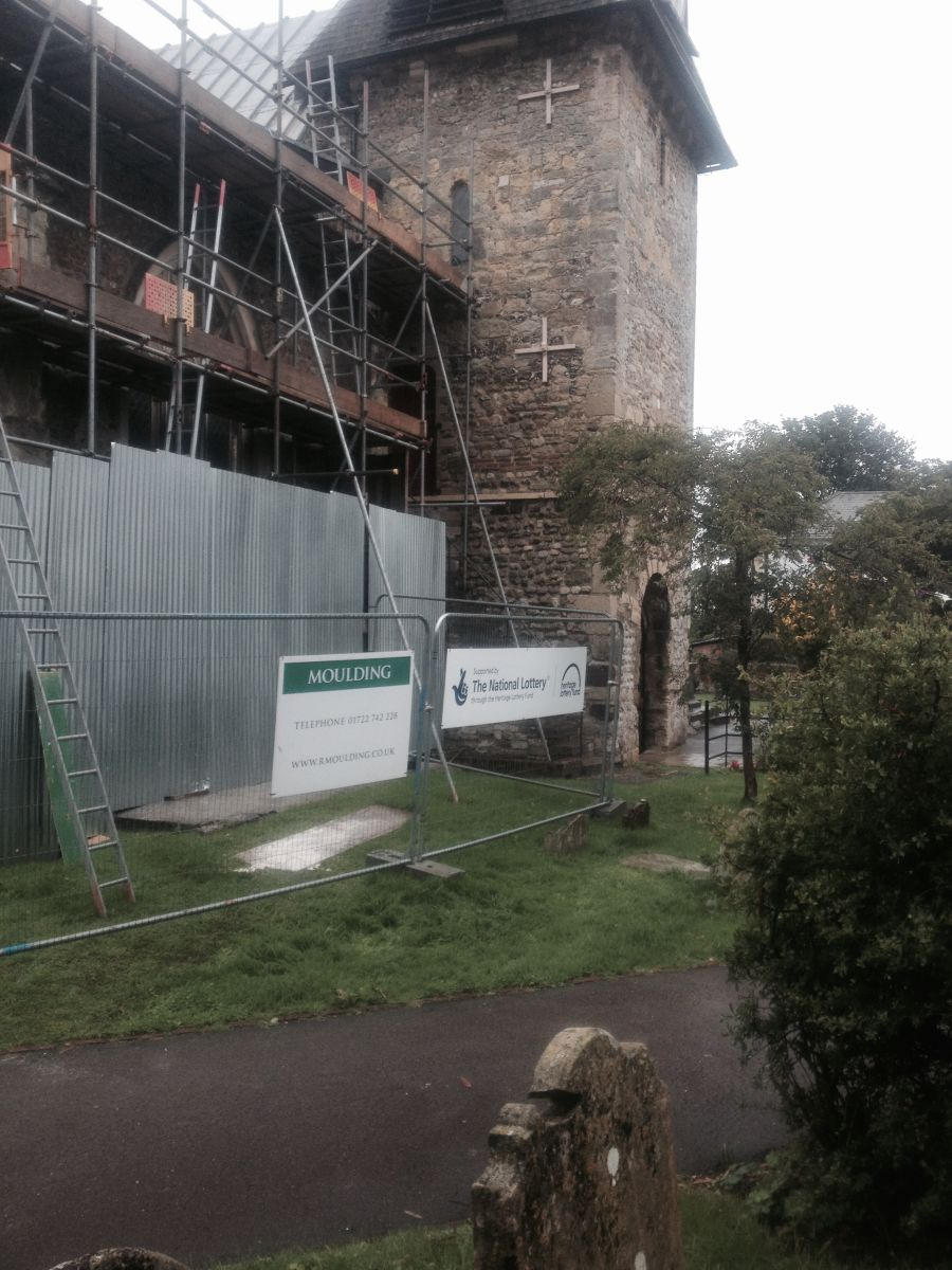 Repairs to St Peters