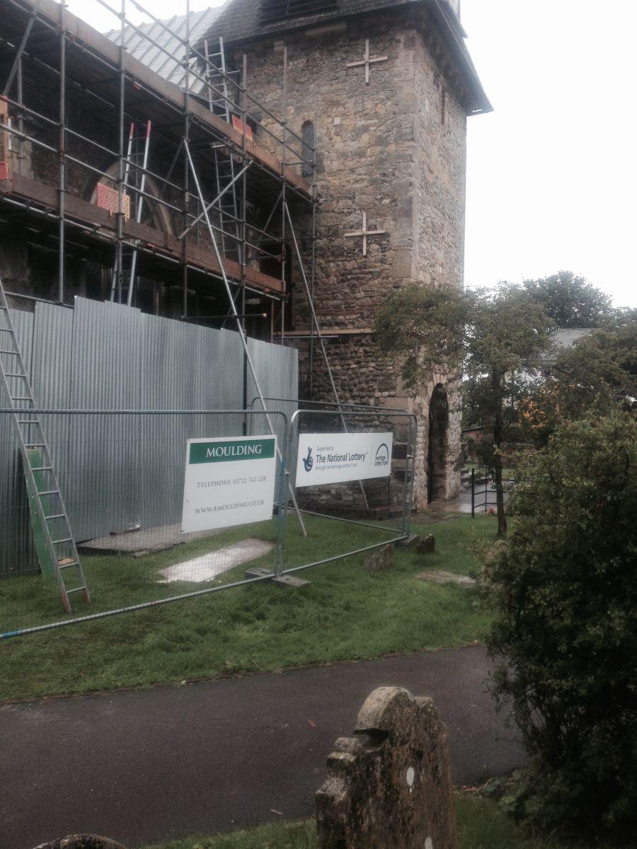 Repairs to St Peters